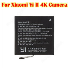 2X3.85V 1400mAh Replacement Battery For Xiaomi Yi II 4K Sports Camera Camcorder
