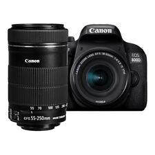 NUEVO Canon EOS 800D Cámara con EF-S 18-55mm & 55-250mm f/4-5.6 IS STM Lentes