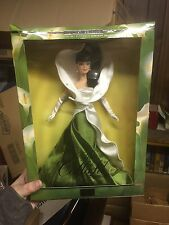 """2001 BARBIE """"THE CALLA LILY"""" DOLL NEW IN BOX 3RD IN FLOWERS IN FASHION SERIES"""
