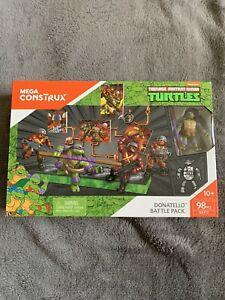 Mega Construx TMNT Donatello Battle Pack DXF17 Rock Soldiers Turtles NEW SEALED
