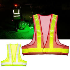 Safety Tops Security Reflective Vest Mesh Fabric Construction Protective Gear