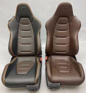 GENUINE MCLAREN MP4-12 RECARO SEATS PAIR INC SUBFRAMES / MOTORS 540S 570S 650S