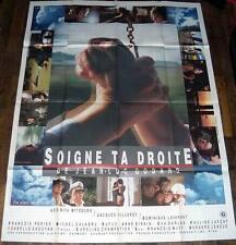 SOiGNE TA DROiTE Jean-Luc Godard Lafont Lavanant Jane Birkin GRANDE AFFiCHE