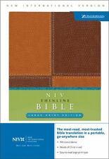 NIV Thinline Bible, Large Print (New International Version), Zondervan, Good Boo