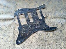 Custom Tooled Leather Pickguard Fender Stratocaster SSS HSS HH HSH