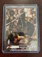 Trent Grisham 2020 Topps Chrome Rookie Card RC Sepia Refractor Padres SP