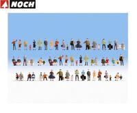 NOCH N 38401 Mega-Spar-Set 60 Figuren, ohne Bänke - NEU + OVP