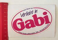 Aufkleber/Sticker: Verliebt In Gabi - Schöne Sachen Selbermachen (170416194)