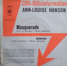 """7"""" 1976 CBS BLITZ PROMO MINT- ! ANN-LOUISE HANSON : Masquerade"""