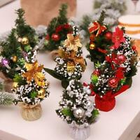 20cm Mini Christmas Tree Decor Desk Table Festival Party Ornament Xmas Home