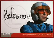 UFO - JOHN LEVENE (JL2) - Interceptor Pilot - VERY LIMITED Autograph Card