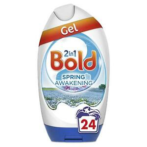 Bold 2-in-1 Washing Gel Detergent with Lenor - Spring Awakening Scent, 24 Washes