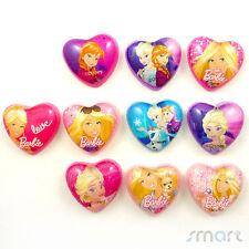20pcs Mixed Resin Princess Flatback Cabochon Embellish Craft Hairbow Center 25MM