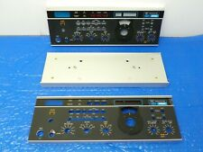 Drake TR7 HF Transceiver Front (2) and Rear (1) Panels