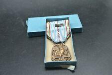 Médaille commémorative Française guerre 1939-1945, WW2, militariat, en boîte