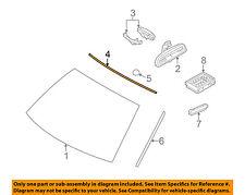 BMW OEM 04-10 X3 Windshield-Upper Molding Trim 51313415508