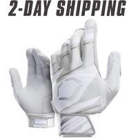 EvoShield Speed Stripe Adult SPEED STRIPE GEL TO SHELL Batting Gloves WHITE/GRAY