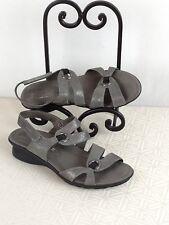 MEPHISTO PARFOLIA  Sandals size 7.5 (EU 38) Silver Leather