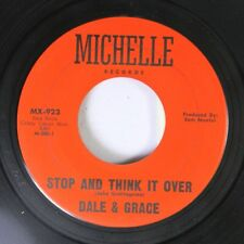 Rock 45 Dale & Grace - Stop And Think It Over / Bad Luck On Michelle Records