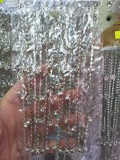 1 cavigliera strass multicolor bagn argento  27 cm bracciale da caviglia estate
