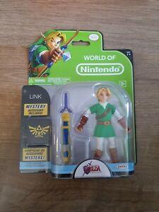 World of Nintendo Jakks Legend of Zelda Ocarina of Time Link Jakks Pacific