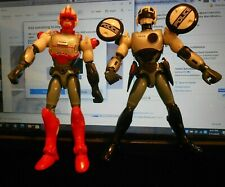 Takara 1988 Zap Power Force Cybercops Police Lot of 2 Biotron & Zortron