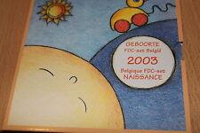KMS Bélgica 2003 Babysatz