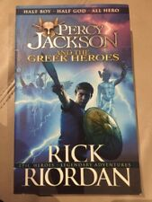 Percy Jackson And The Greek Heroes By Rick Riordan (paperback 2015)