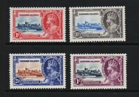 Leeward Islands - 1935 Silver Jubilee set, mint, cat. $ 35.75