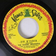 Rock 45 The Lovin' Spoonful - Six O'Clock / The Finale On Kama Sutra