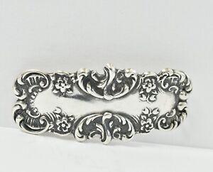 """Vintage Signed T Foree Sterling Silver Bracelet *SEE DESC* 2"""" 7.9G"""