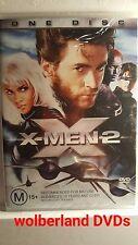 X-Men 2 [ DVD ] BRAND NEW & FACTORY SEALED, Region 4, FREE Next Day Post