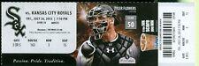 2013 White Sox vs Royals Ticket: David Lough & Conor Gillaspie hit a Home Run