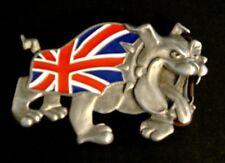 Spike British Bulldog Belt Buckle Union Jack  FLAG