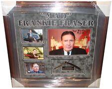 Mad Frankie Fraser SIGNED AUTOGRAPH AFTAL