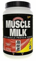 NEW CytoSport Muscle Milk Strawberry Banana 2.47 Pounds FREE SHIPPING
