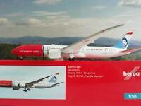 530170_001 Herpa Wings Norwegian Boeing 787-9 Dreamliner G_CKNA Freddie Mercury