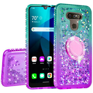 Case for LG Harmony 4/LG Xpression Plus 3/Premier Pro Plus Bling Phone Cover