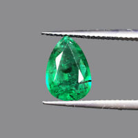 2.37 Cts Certified Natural Emerald Zambian Rich Green Premium High End Gemstone