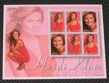 Grenada 3267 Miniature Sheet Supermodel Heidi Klum MNH
