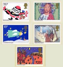 GB 1981 PHQ Cards Mint Set~Christmas~(5)~PHQ-56~UK Seller