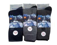 3, 6, 12, Pairs Mens Merino Wool 2.4 Tog Reinforced Heel Diabetic Friendly Socks