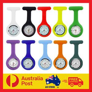 Silicone Nurse Brooch Tunic Watch Pendant Watch Pocket Watch Nursing Fob Clip AU