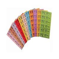 1500 Jumbo Bingo Tickets, books, flyers, 2.3.4.5.6,8 page book,1-90 strips of 12