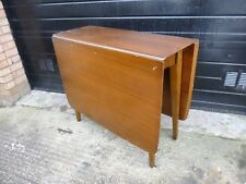 Retro teak Scandinavian Design drop-leaf table by Sutcliffe of Todmorden