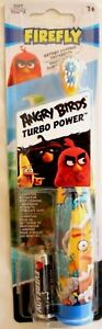 Angry Birds Turbo Power Auto Childrends Electric Toothbrush Battery included