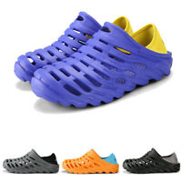 Mens Sports Water Shoes Outdoor Beach Sandals Hole Casual Sneakers Slip On Hot