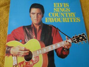 ELVIS SINGS COUNTRY FAVOURITES..VINYL LP-VG+ READERS DIGEST-1984