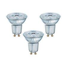 3 x OSRAM LED Verre Réflecteur Base Par16 50 4 3w 50w Gu10 350lm Blanc Chaud