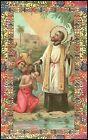 SANTINO HOLY CARD IMAGE PIEUSE - SAN FRANCESCO SAVERIO - SACERDOTE GESUITA